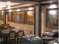 Декорирование ресторана Фонтан