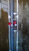 Перенос стояков водоснабжения
